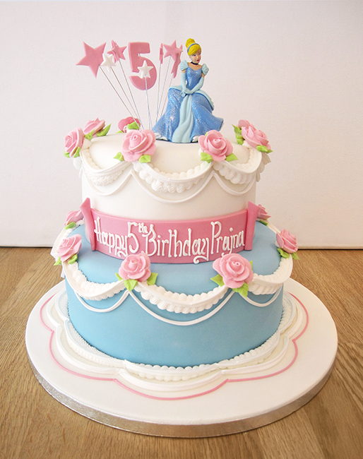 Disney Cinderella Birthday Cake