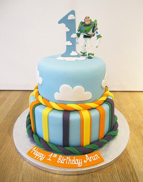 Buzz Lightyear Cake