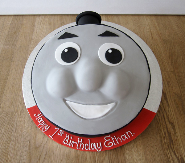 James the Tank Engine Cake