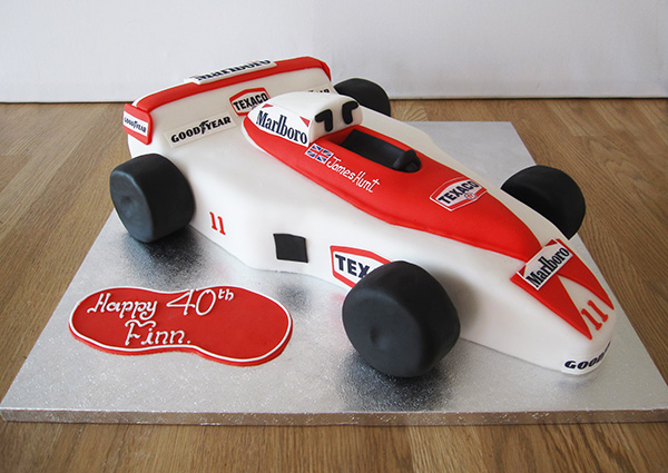 Formula 1 Car Cake