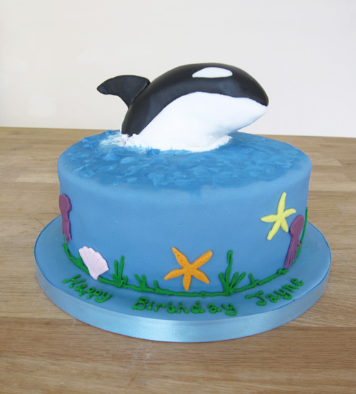 How To Make A Whale Shaped Cake