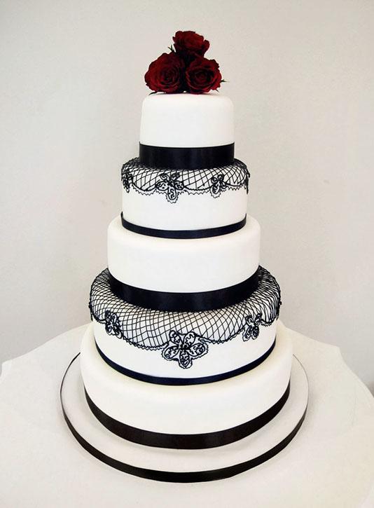 ... birds wedding cake white lily wedding cake half and half wedding cake