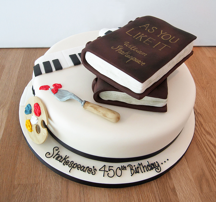 Shakespeare Birthday Cake
