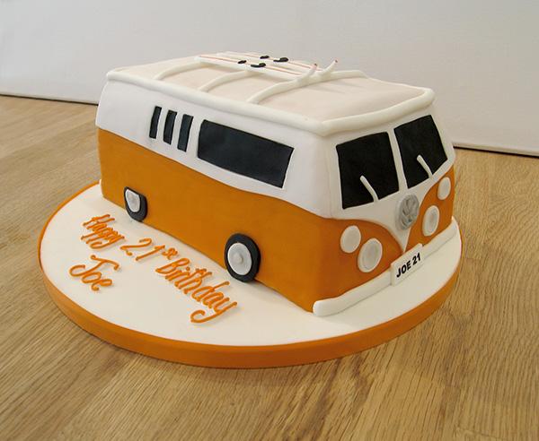 VW Camper Van Cake