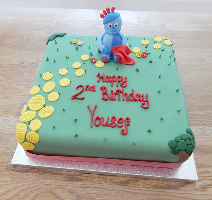 Iggle Piggle Birthday Cake
