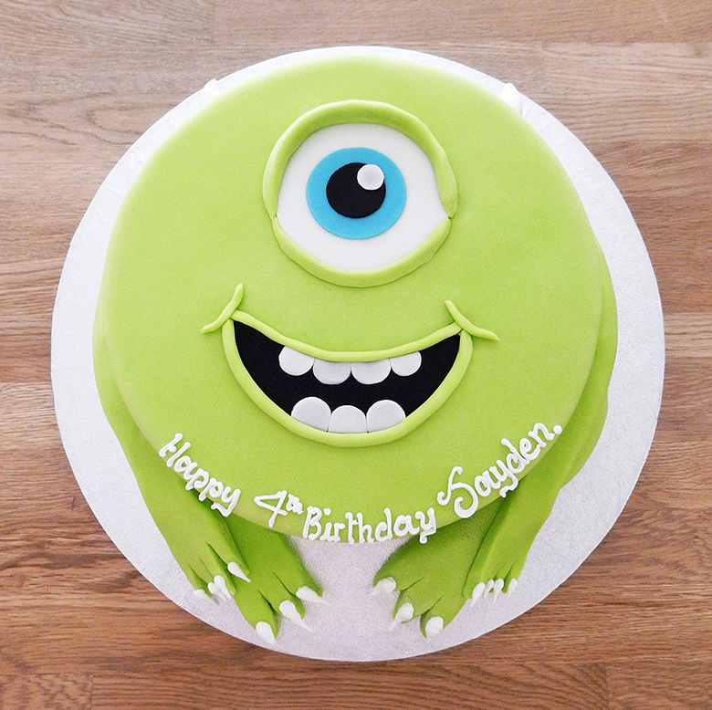 Disney Monsters Mike Cake