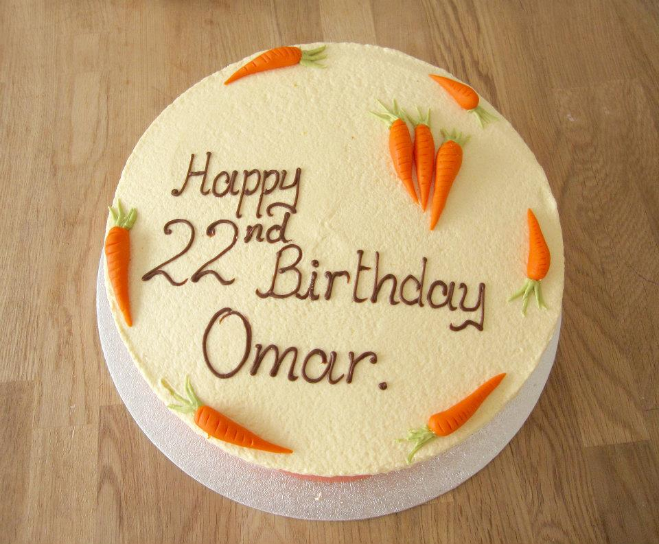 Carrot Birthday Cake