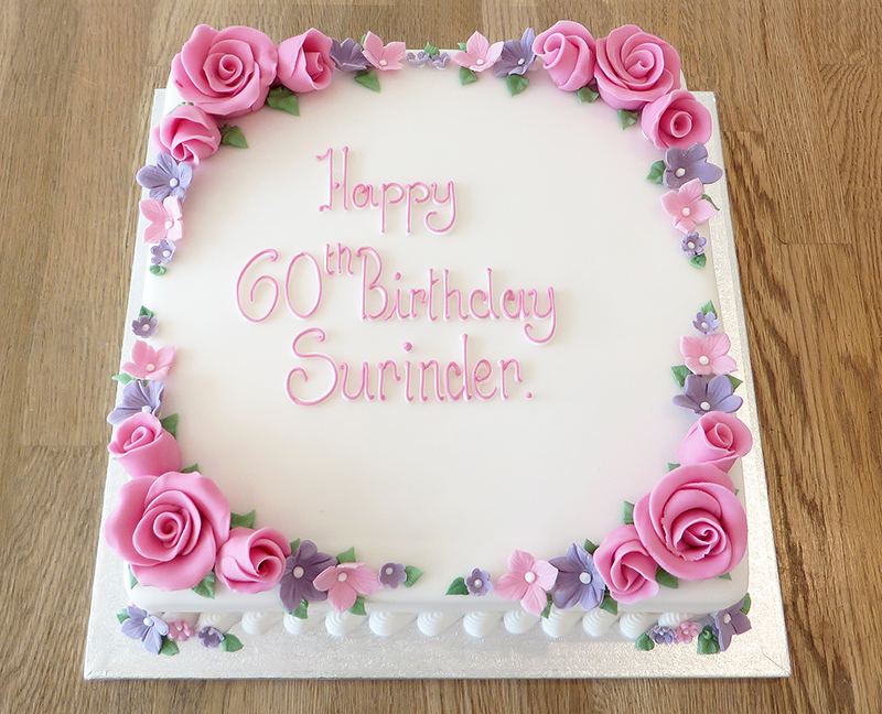 Birthday Cake Designs In Square : Celebration Cakes - The Cakery Leamington Spa