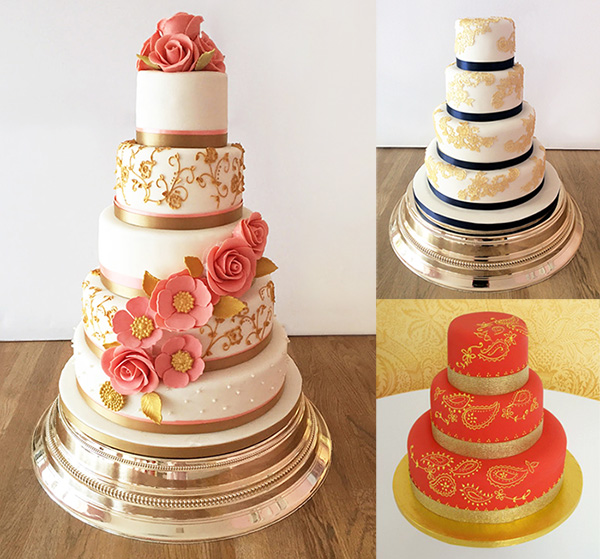 Asian Wedding Cakes by The Cakery