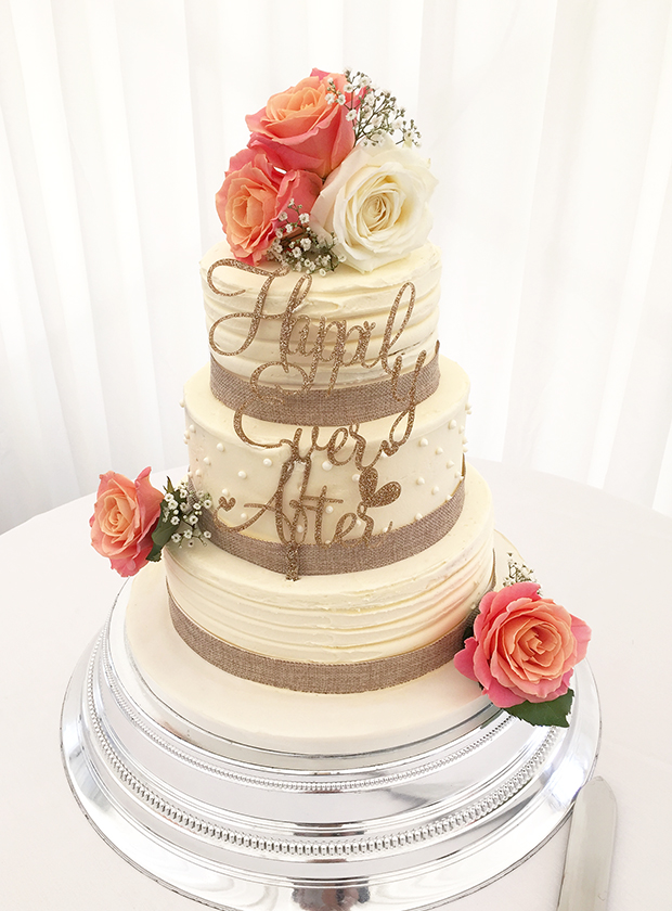 Happy ever after wedding cakes