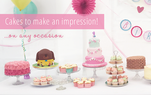 Cakes to make an impression!