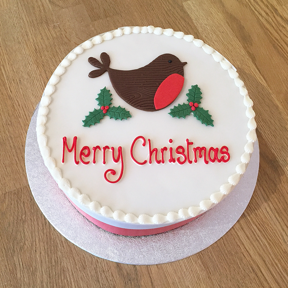 Christmas Cakes - The Cakery Leamington Spa