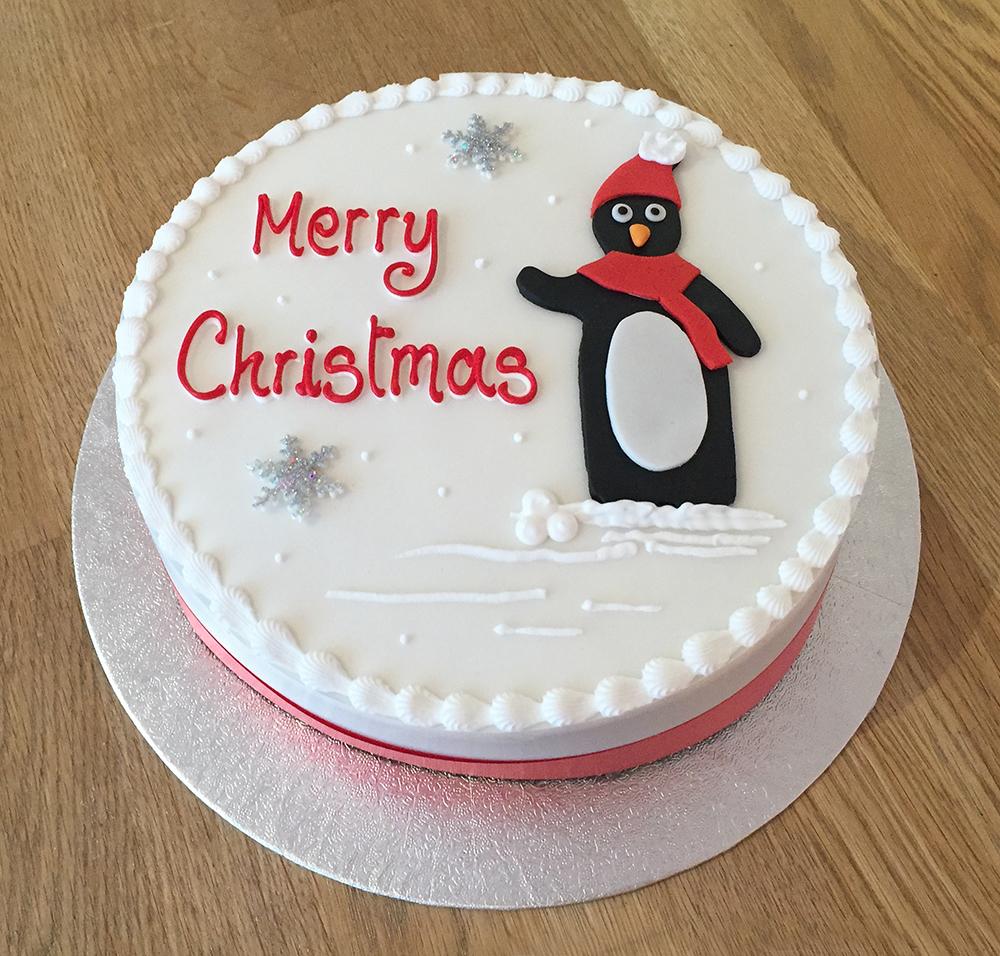 Christmas Fruit Cake Decoration Ideas