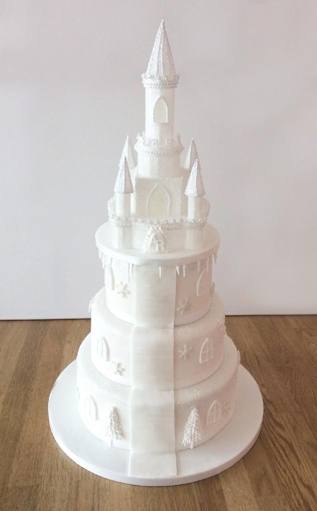 Ice Castle Wedding Cake