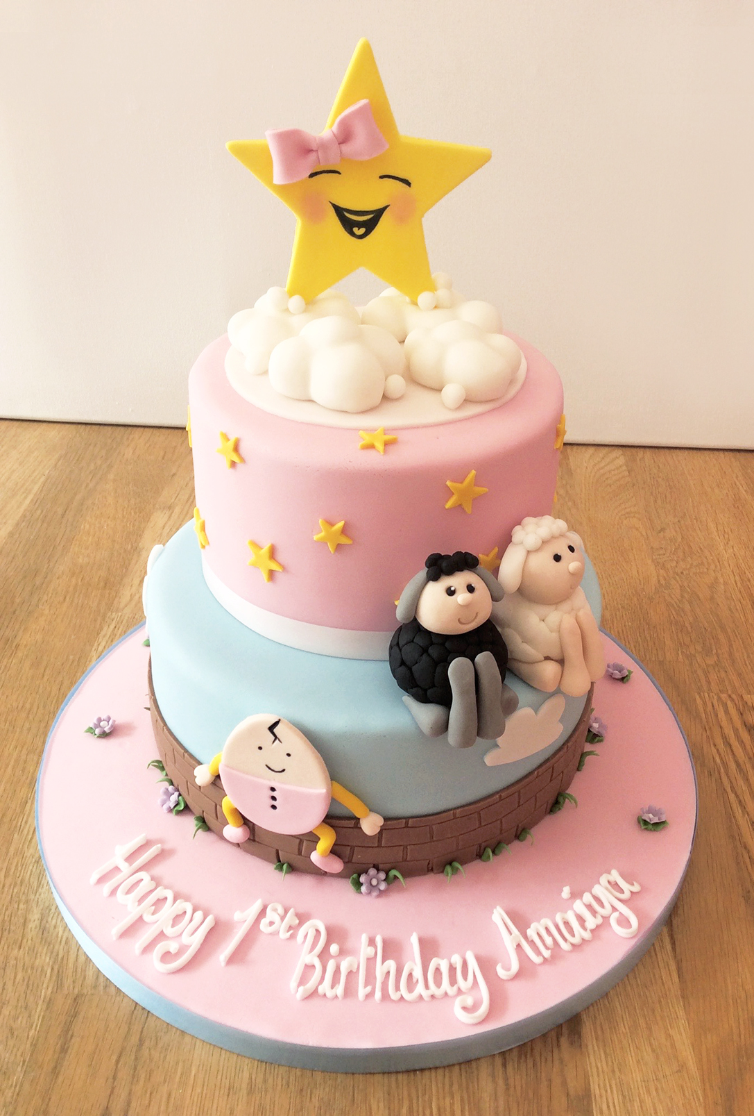 Nursery Rhyme Cake Birthday