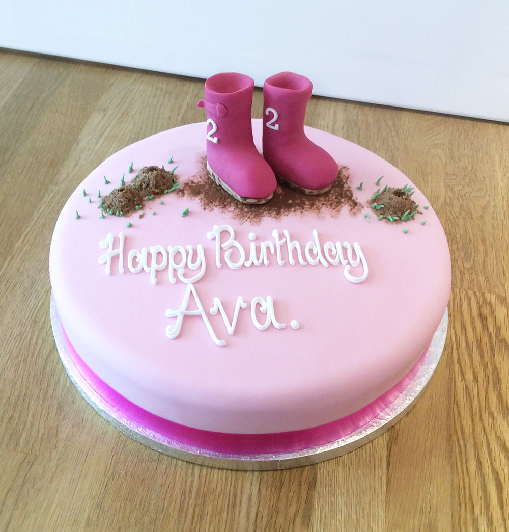 Wellington Boots Cake birthday cakes in leamington spa 8 on birthday cakes in leamington spa