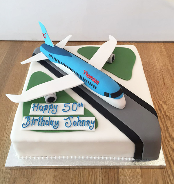 Airplane Birthday Party Cake Ideas