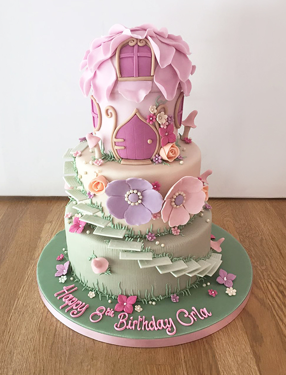 Carousel Birthday Cake Women