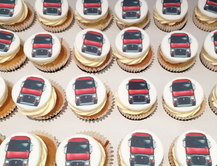 Lorry Cupcakes