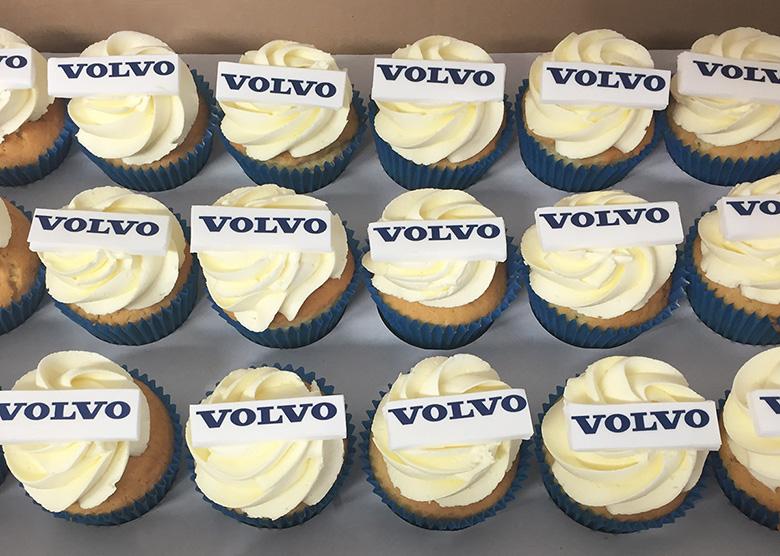 Volvo Cupcakes