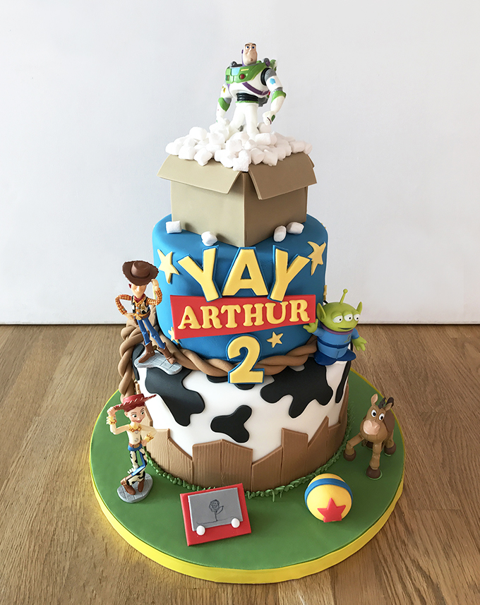 Toy Story 2nd Birthday Cake
